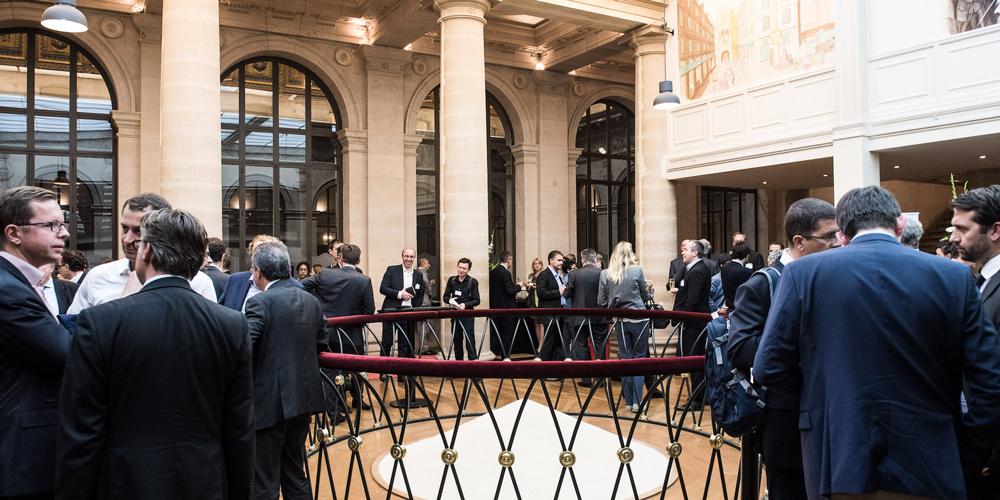 Conférence au Palais Brongniart